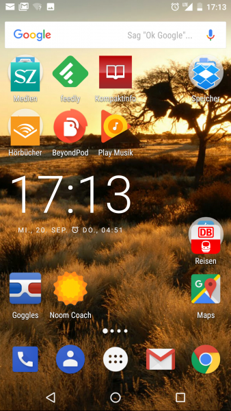Goodwin Homescreen