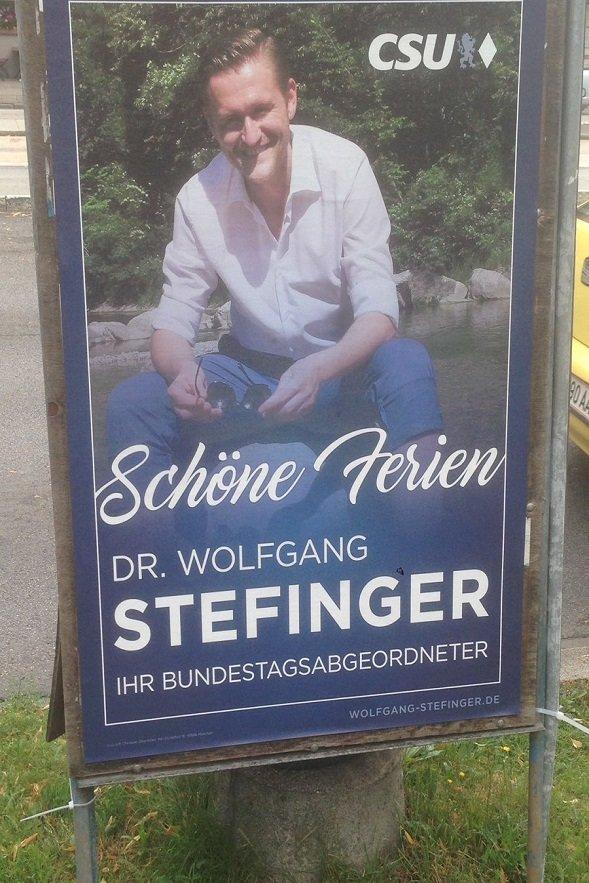 Stefinger CSU Ferien