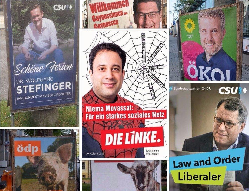 Titelbild Wahlplakate