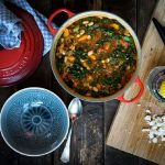 Grünkohl-Dinkel-Eintopf mit Tomaten