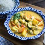 Indisches Fisch-Curry