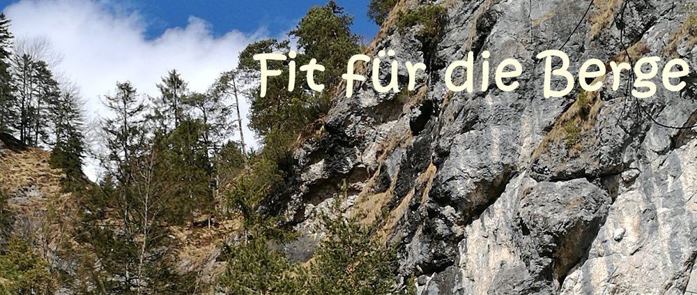 fit fuel die Berge