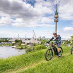 Mit elektronischem Rückenwind auf den Olympiaberg: die E BIKE DAYS vom 25. bis 27. Mai