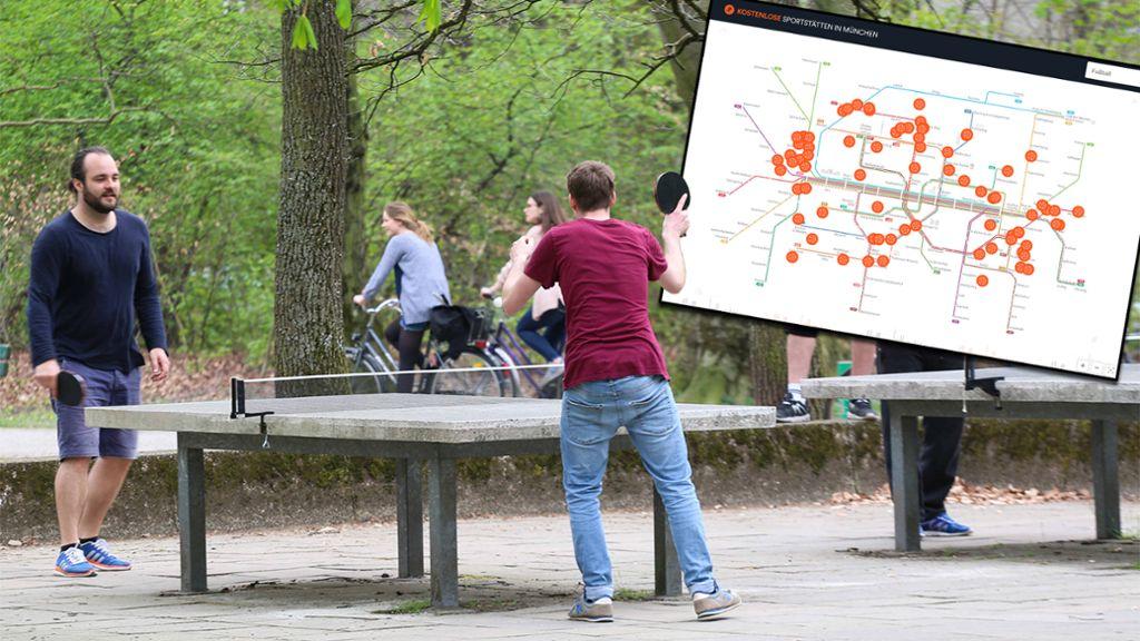 fu ball tischtennis co neue interaktive karte zeigt wo man kostenlos sporteln kann mucbook. Black Bedroom Furniture Sets. Home Design Ideas