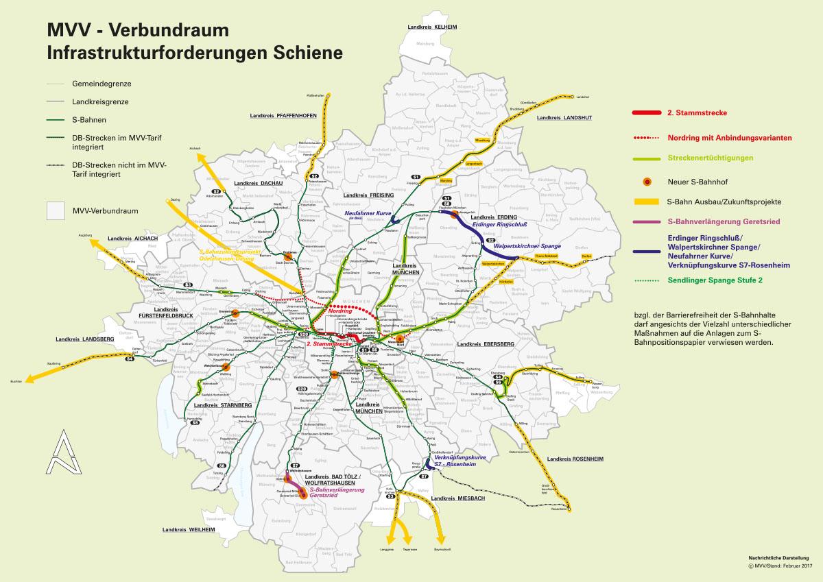 Mvv Zonen Karte.Der Busring Ist Gut Aber Munchen Braucht Eine Ringbahn