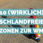10 (wirklich) fußballfreie Orte zur WM in München