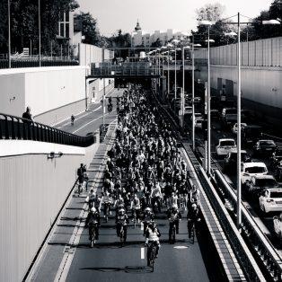 """""""Die Liebe zum Fahrrad verbindet"""" – Critical Mass München im Interview"""