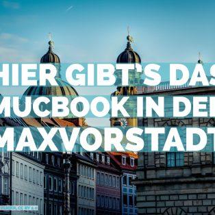 Hier gibt's das MUCBOOK Magazin in der Maxvorstadt