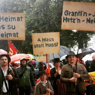 """""""A Mass statt Hass"""" in den Bierzelten"""