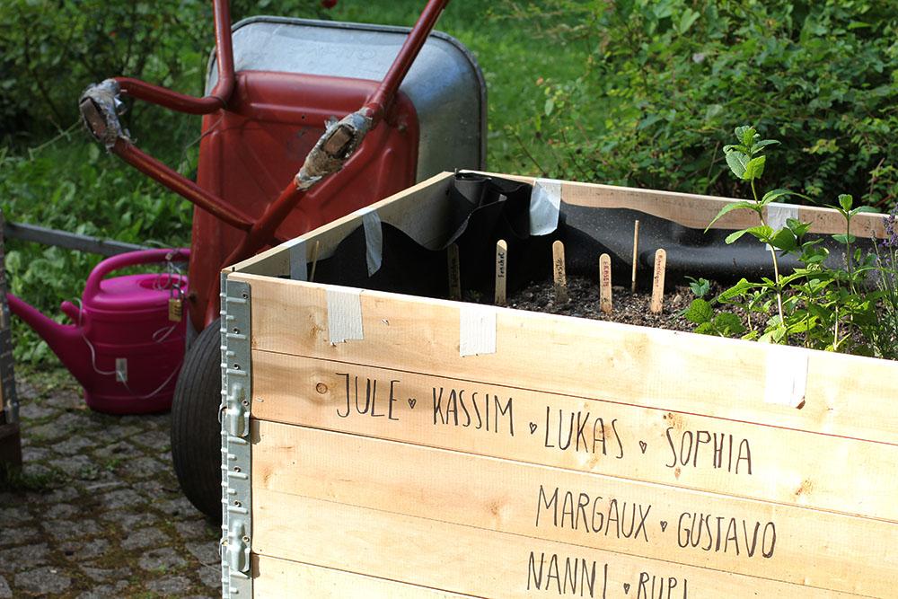 Hochbeete von Green City im Nußbaumpark, Foto: Max Büch