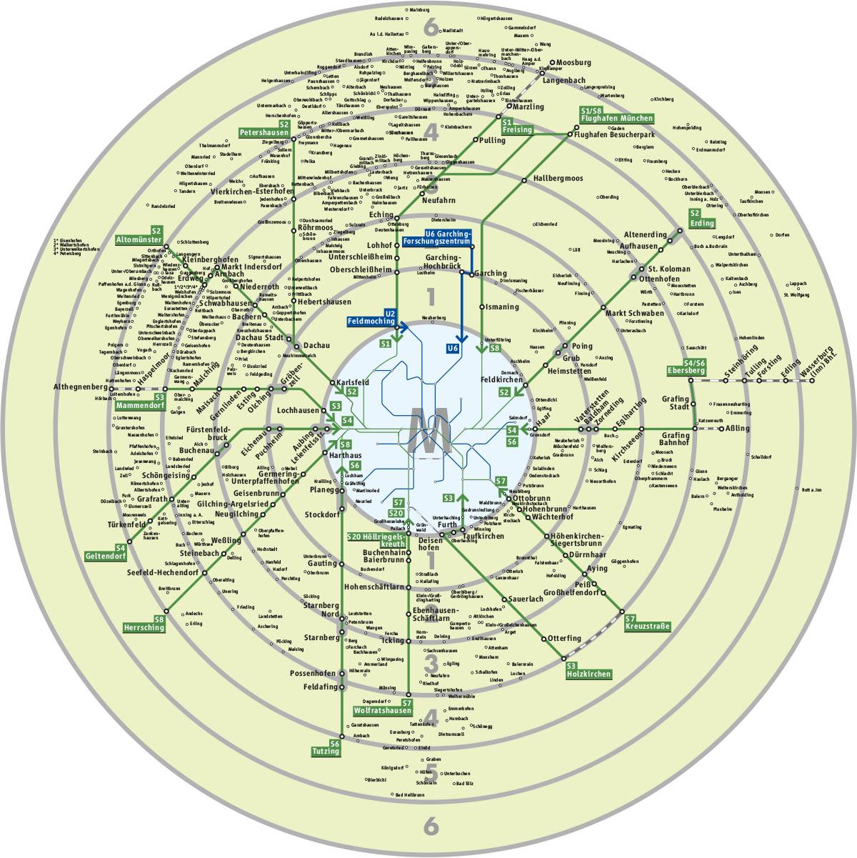 Mvv Zonen Karte.Into The M Zone Was Du Uber Die Mvv Tarifreform Wissen