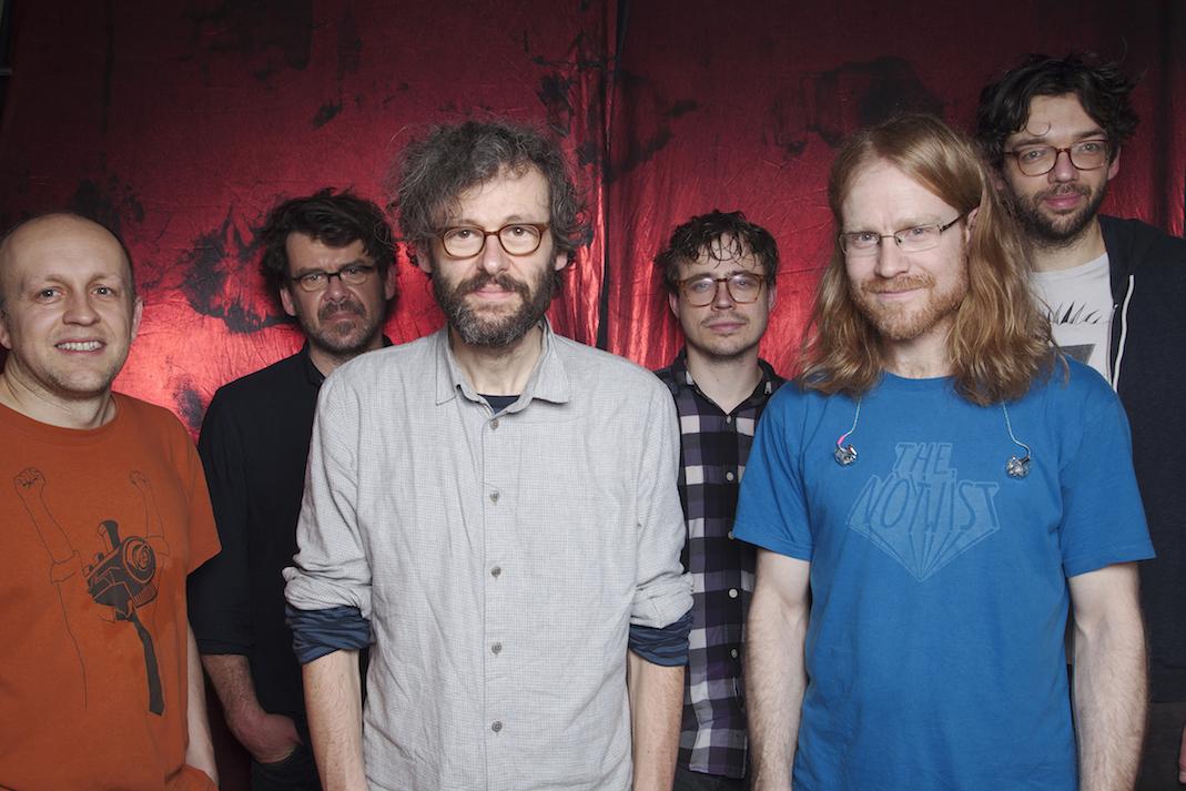 Die Band The Notwist, fotografiert von Patrick Morarescu