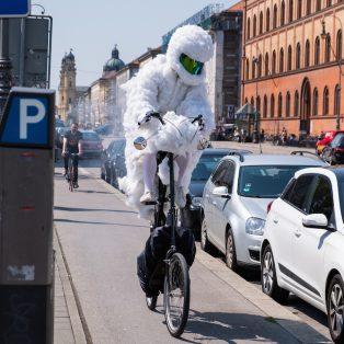 Wolkenradler: Eine Wolke für die Verkehrswende!