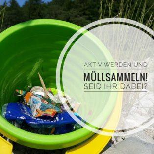 Aktiv schützen, was man liebt: Einfach Müllsammeln!