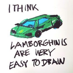 Kunst im Köşk: Lamborghini Crying von Alexander Scharf