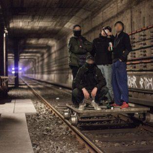 """Rocco und seine Brüder – die """"Schock-Aktivisten"""" sind wieder zu Besuch in München"""