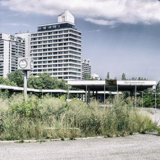 Was passiert mit dem alten Busbahnhof am Olympiazentrum?