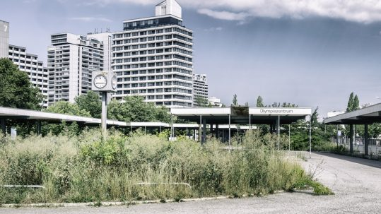 Busbahnhof Olympiazentrum, Foto: © Max Emrich