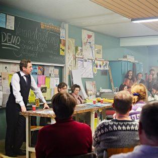 Wackersdorf:  Mit viel Mut – und auch Wut!