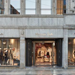 Der neu eröffnete Massimo Dutti Flagship Store präsentiert seine Besonderheiten