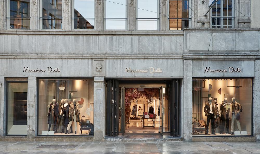 Massimo Dutti_Flagship Store Munich_Outside