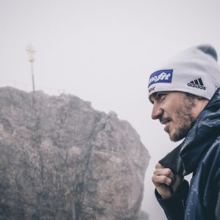 Spezltour, hoch hinaus: Auf der Zugspitze mit Felix Neureuther
