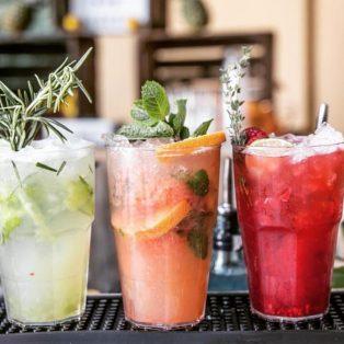 Mobile Drinks von Munich Flavour beim Hallo Schönes-Designer Sale