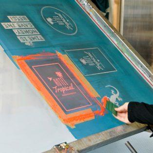 DIY-Siebdruckwerkstatt mit Stephanie von der WerkBox³ am 7. September im Stierblut-Store