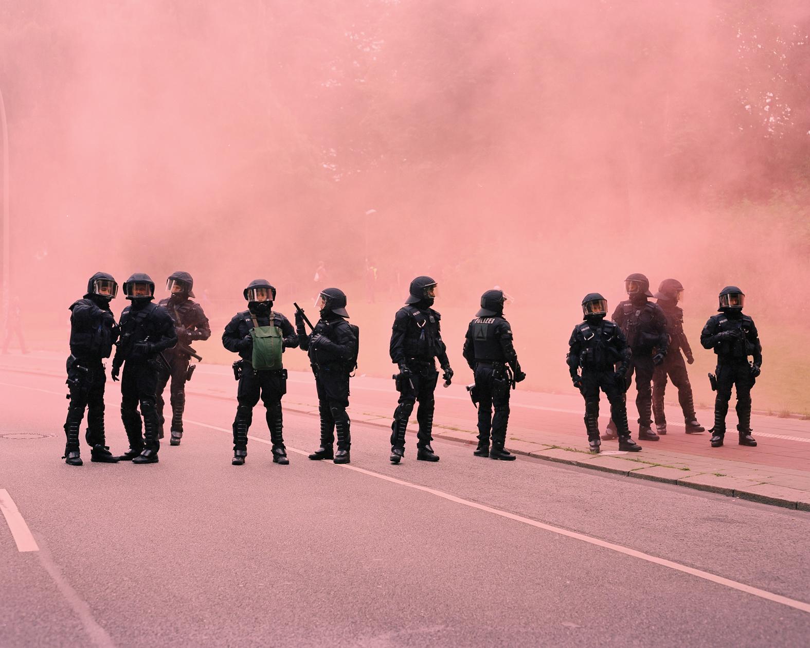 Mit der Cop Map protestieren die Polizeiklasse und das Peng!-Kollektiv gegen das Polizeiaufgabengesetz.