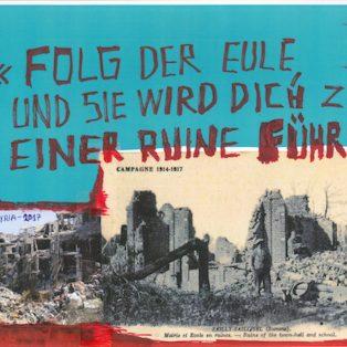 """Die Ausstellung Thomas Hirschhorn """"Never give up the spot"""" eröffnet am 18. Oktober"""