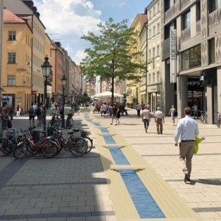 Spektakuläre Idee: Ein Stadtbach in der Sendlinger Straße