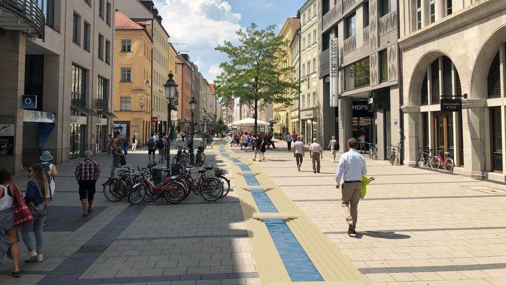 Stadtbach Sendlinger Straße