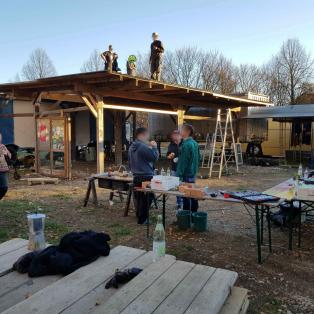 Die Karawane zieht (wieder) weiter: der Stattpark Olga hat endlich eine neue Heimat