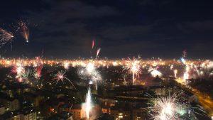 The Westin Grand Feuerwerk