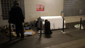 Ein Iglou für Obdachlose in Paris