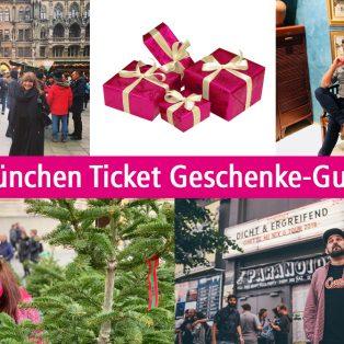 Der München Ticket Geschenke-Guide: 4 MitarbeiterInnen empfehlen ihre Lieblingsveranstaltungen