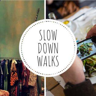 Probier's mal mit Gemütlichkeit bei den Slow Down Walks!