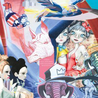 Beastiestylez & Friends – Münchner Graffiti Legenden feiern am 9. März Vernissage im Feierwerk Farbenladen
