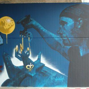 Münchner Gesichter: 8 Fragen an Graffiti-Legende Loomit