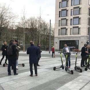 E-Scooter Update: Pilotprojekt am Schwabinger Tor läuft seit dem 11. April
