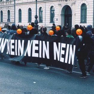 Münchens neuer Exportschlager: Protest!