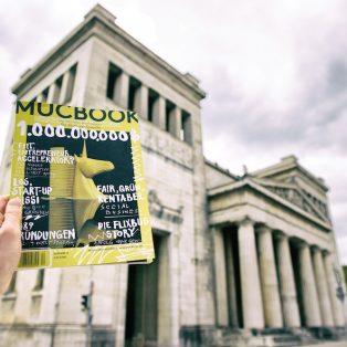 New in: die MUCBOOK Start-up-Ausgabe ist da!