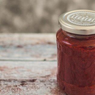 Erdbeer-Balsamico-Marmelade mit Vanille