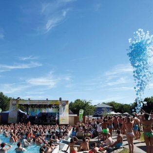 Bayern 3 Beach Party in der Therme Erding