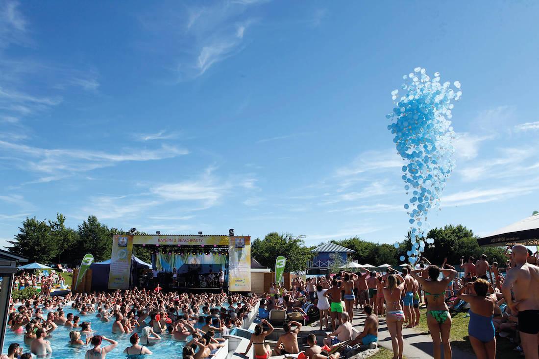 Bayern 3 Beach Party in der Therme Erding - MUCBOOK