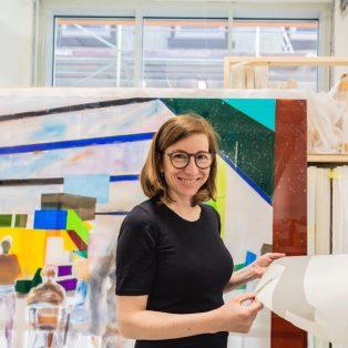 Münchner Gesichter: Angela Stauber gewinnt den Kunstpreis Rampe 2019