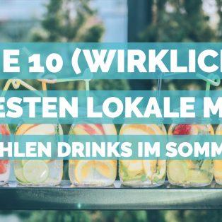 Die 10 (wirklich) besten Lokale mit kühlen Drinks im Sommer