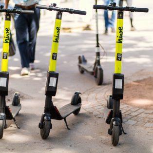 E-Scooter: Die Stadt sieht jede Fahrt in Echtzeit