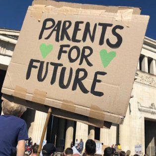 ParentsForFuture rufen zur Munich For Future-Demo am 21. Juli auf
