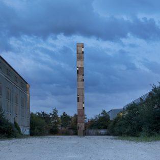 Neu: Groß-Skulptur mit Ausblick im Kreativquartier